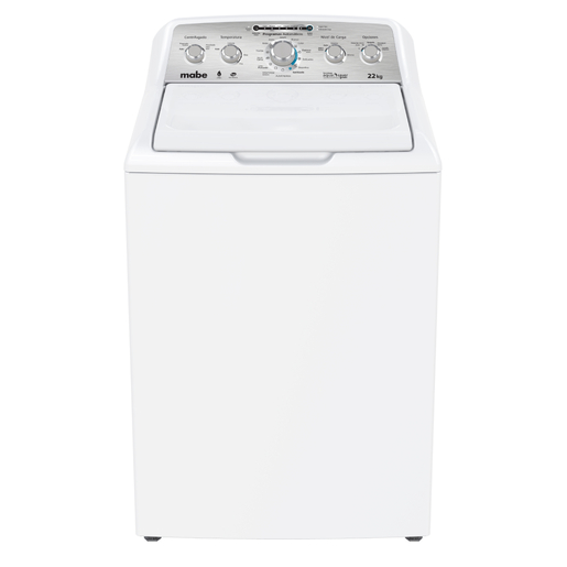 Lavadora Aqua Saver Green High Efficiency Automática 22 kg Blanca con Sanitizado Mabe - LMH72205SBAB0
