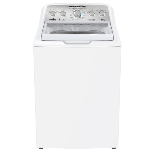 Lavadora Aqua Saver Green High Efficiency Automática 22 kg Blanca con Sanitizado Mabe - LMH72205WBAB0