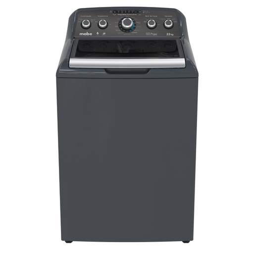 Lavadora Aqua Saver Green High Efficiency Automática 22 kg Diamond Gray con Sanitizado Mabe - LMH72205WDAB0